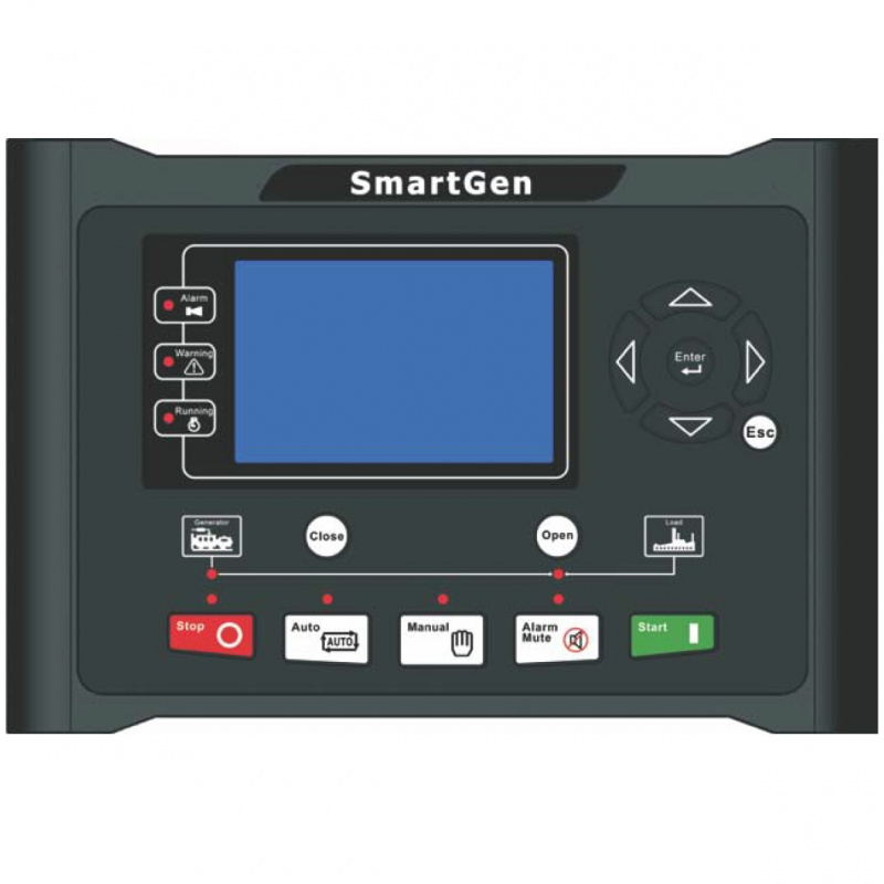 SmartGen HGM9510 Generator controller, 4.3inches TFT-LCD, multi-units parallel, RS485, CANBUS