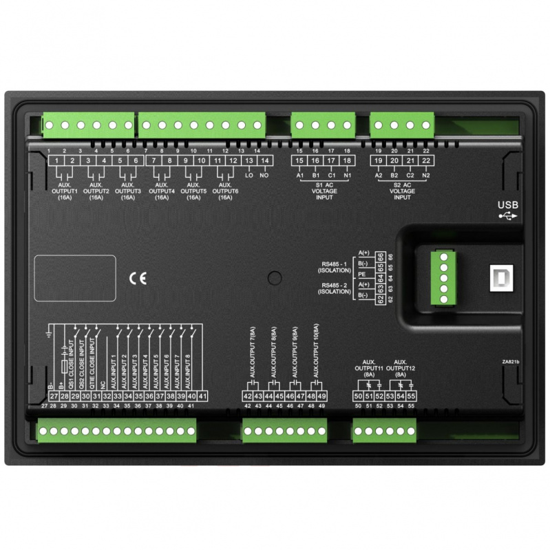 SmartGen HAT821 Dual Power Bus Tie controller