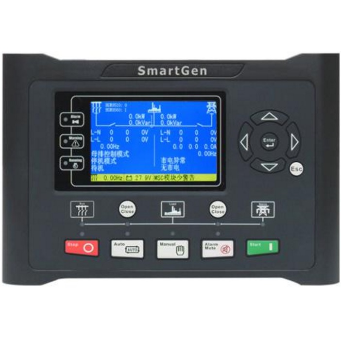 SmartGen HGM9560 Generator controller, 4.3inches TFT-LCD, bus-mains parallel, RS485