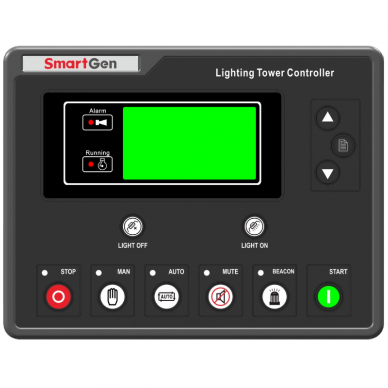 SmartGen ALC704 Lighting Tower Controller, Illumination control, timing boot, remote start/stop