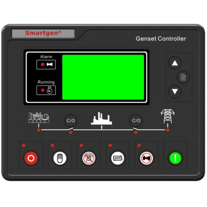 Smartgen Hgm7220 Generator Controller  Event Logs  Rs485  Sms  Schedule Control  Amf  Hgm7xxx
