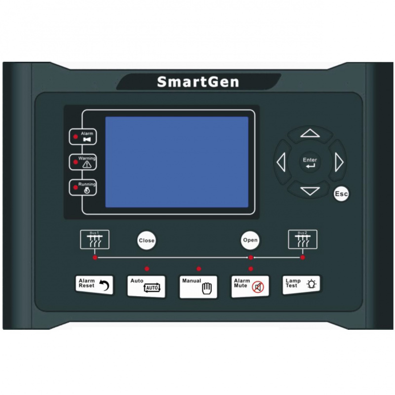 SmartGen HGM9580 Generator controller, 4.3inches TFT-LCD, bus-bus parallel, RS485