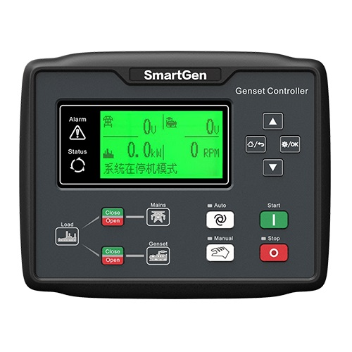 SmartGen HGM7120N Auto Start Generator controller, AMF+USB+RS485+ETHERNET