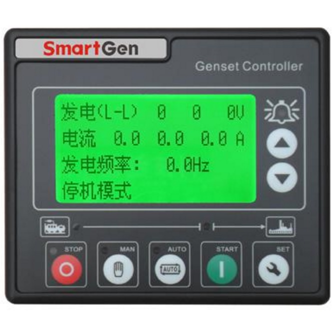 SmartGen HGM410DC Generator controller, Small size, large LCD