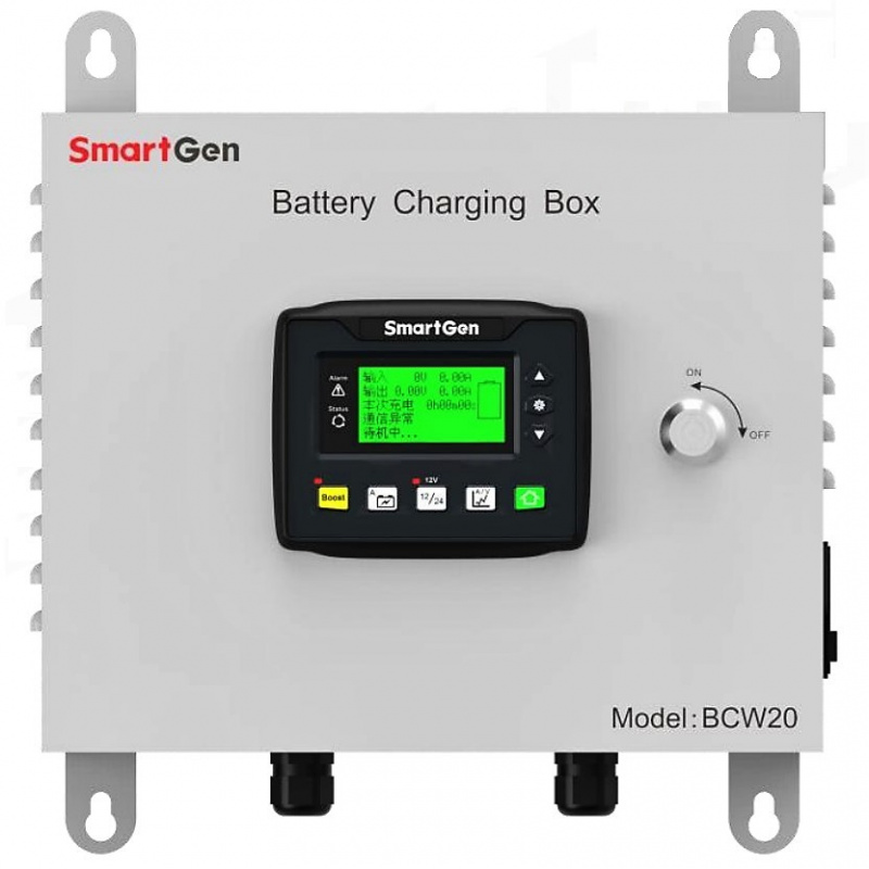SmartGen BCW20 For 24V or 12V batteries, the maximum output current is 20A