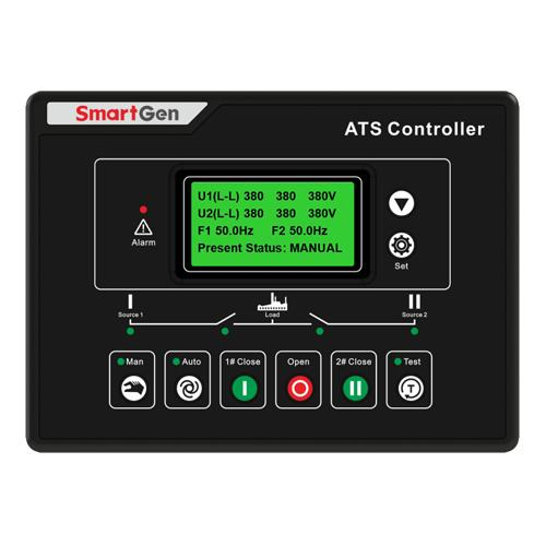 SmartGen HAT600NBI ATS Controller, DC + AC power supply + AC current/power detection and display