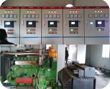 Biogas Multi Genset-Grid Parallel Application